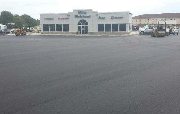 Past projects heartland asphaltheartland asphalt for Community motors mason city