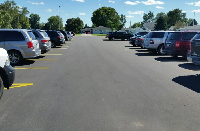North Butler Parking Lot