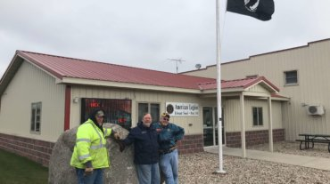Giant Rock Donated to American Legion