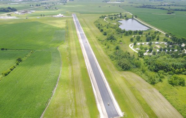 New Hampton Airport Runway Resurfacing