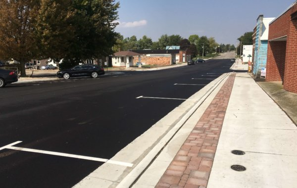 Radcliffe Downtown Street & Sidewalk Improvements