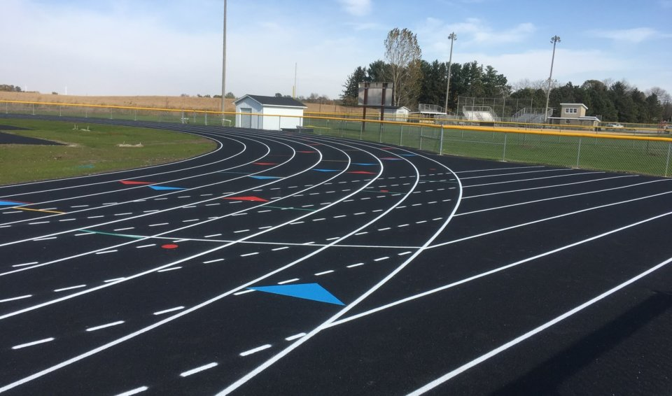 Iowa Falls H.S. Track Improvements